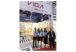 VIGA Faucet took part in 2018 spring canton fair and brought lots of series about kitchen faucets and bathroom faucets.