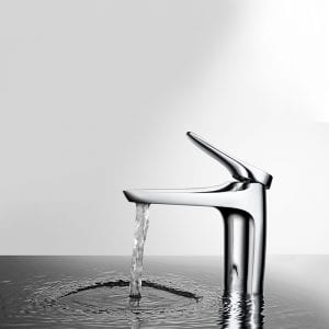 There can be a sink without a pool, but there can be no sink without a faucet