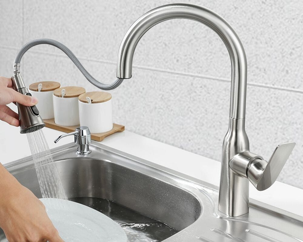 What Causes Low Water Pressure In Kitchen Sinks Faucet
