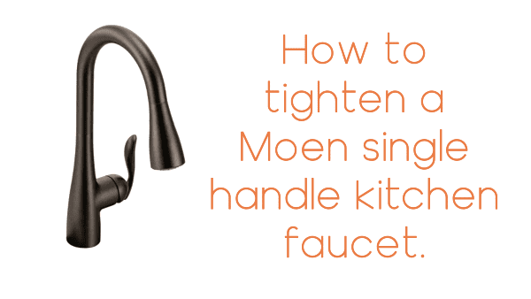 How To Tighten A Loose Moen Single Handle Kitchen Faucet Base New Diywvcap Article Press Release Viga Faucet Manufacturer