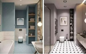 A Lazy Patient's Bathroom Design That Makes Cleaning 10 Times Easier!