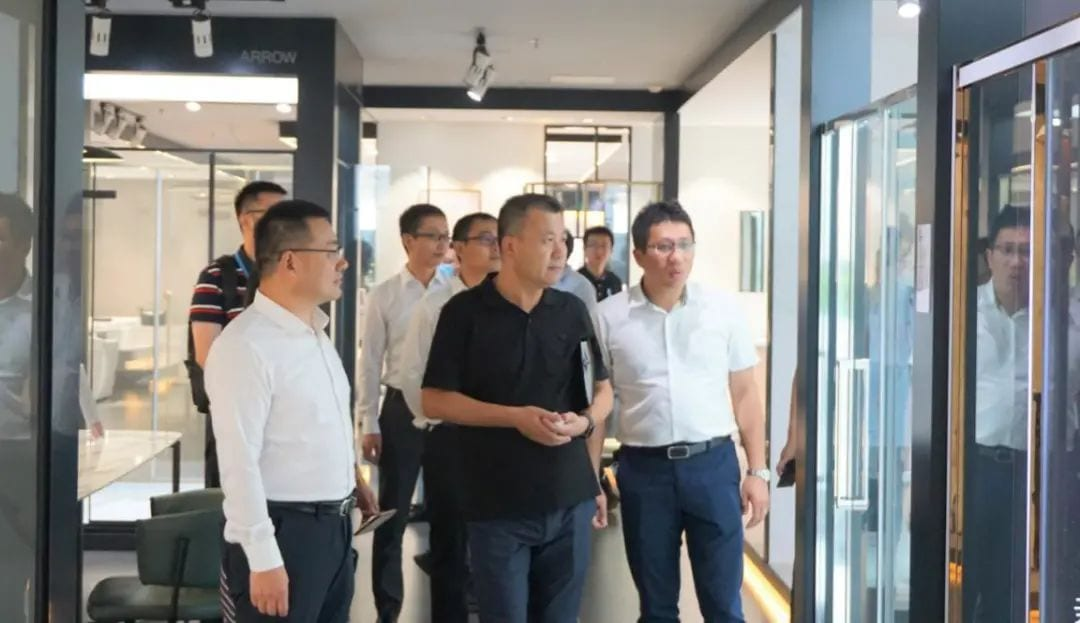 Midea Life Leaders Of Midea Group Visited Arrow Home Group Viga Faucet Manufacturer