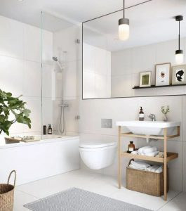 Maximize The Use Of Small Bathrooms! 8 Methods That Designers Are Using